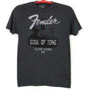 Fender Guitars Soul of Tone T-Shirt Gray Small